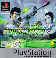 Syphon Filter 2 Game for the Sony Playstation Buy Now from Fully Retro! Ps4, Playstation Games, Retro Video Games, Video Game Art, Retro Games, Xbox 360, Arsenal, 90s Games, Sony