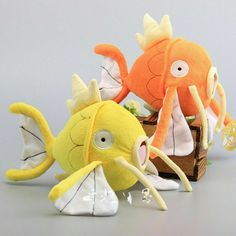 Pokemon Magikarp Golden Carp Set of 2 pcs Soft Plush Figure Toy Anime Stuffed Animal Child Gift Doll -- You can find out more details at the link of the image. (This is an affiliate link) Popular Kids Toys, Cute Plush, Dinosaur Stuffed Animal, Stuffed Animals, Stuffed Toys, Doll Toys, Gifts For Kids, Action Figures, Pokemon