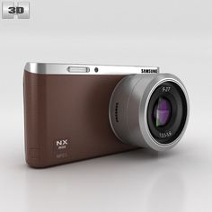 Samsung NX Mini Smart Camera 3d model from humster3d.com. Price: $95