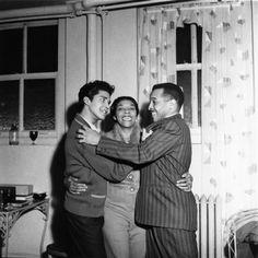 Dinah Washington, Rafael Campos, Eddie Chamblee - 1963. Photo by Isaac Sutton