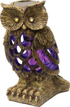 OWL SOLAR BUG Zapper!!!! Junk GYpSy co.