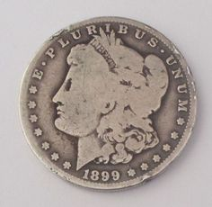 1899-O Morgan Silver Dollar - 90% Silver