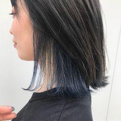 インナーカラー最前線。美容師に聞いた人気色・オフィスOK色、話題の「イヤリングカラー」とは   by.S Hair Chart, Hair Color Streaks, Medium Hair Styles, Long Hair Styles, Pink Hair, Hair Inspo, Dyed Hair, Girl Hairstyles, Hair Cuts