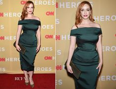 Christina Hendricks attended the 2014 CNN Heroes: An All-Star Tribute held at the American Museum of Natural History on Tuesday (November 18) in New York C