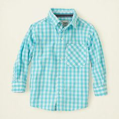 baby boy - outfits - spring dressy - checked shirt | Children's Clothing | Kids Clothes | The Children's Place