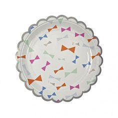Meri Meri Plates - Toot Sweet Bows