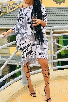 bd2b1b5097ad Details  Material  Polyester Style  Fashion Sleeve Style  Regular sleeve  Sleeve Length  Long Sleeve Neckline  One Shoulder Dresses Length  Knee  Length ...