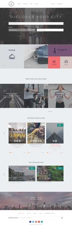Locales is a directory WordPress theme built to create lists of businesses such as Restaurants, Shops, Bars, Pubs, Cafes and much more.