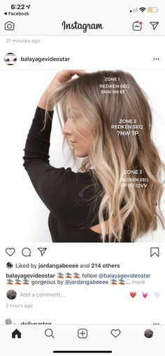 Cool Blonde Hair Colour, Redken Hair Color, Balayage Hair Blonde, Brown Blonde Hair, Brassy Blonde, Redken Hair Products, Hair Color Formulas, Hair Toner, Updos