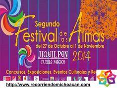 Michoacán mágico te invita a el Festival de las Almas, en Jiquilpan, este se celebra del 27 de octubre hasta el 1 de noviembre de este año, aquí disfrutaras con exposiciones de catrinas, participar en talleres de papel picado, concursos, así como de la deliciosa comida tradicional. HOTEL CABAÑAS ERENDIRA http://erendiralosazufres.com/