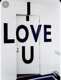 Loving U, Flip Clock, Creative Director, Love Story, Joy, Home Decor, Doors, Type, Decoration Home