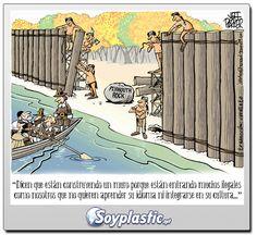 Buenisimas viñeta hablando del muro !