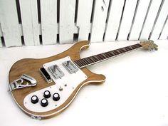 Model 481 Rare Guitars, Vintage Guitars, Rickenbacker Guitar, Gretsch, Guitar Amp, Cool Guitar, Guitar Building, Beautiful Guitars, Guitar Design
