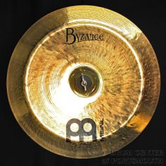 """Meinl Byzance Brilliant China Cymbal 14"""" Hear how it sounds! http://youtu.be/QKzQuMF4QS0 Available for purchase here! http://www.drumcenternh.com/meinl-byzance-brilliant-china-cymbal-14-factory-2nd.html"""