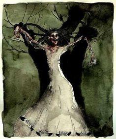 Image result for Night hag Legendary Creature, Corpse Bride, Creatures, Victorian, Hero, Night, Image