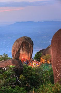 Buddha's footprint Mt Kitchakood Chanthaburi Province Thailand..... Relax with this nature photo. #Relax more with this #free #music with #BinauralBeats that can #heal you. #landscaping #LandscapingIdeas #landscapeDesign