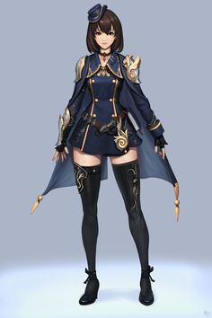 I can really see Ansithe wearing something like this...longer skirt, though.