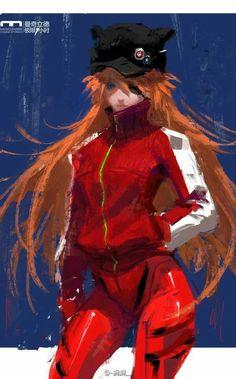 Evangelion, Asuka Langley