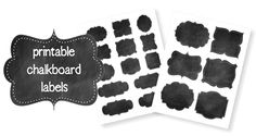 Do you love the look of chalkboard labels but hate the idea of the time and effort it takes to make them? Problem solved! Check out these cute printable chalkboard labels we created for Life Your Way. There's no template. There's no painting. There's no mess. Just type your words on each label (They're all [...]