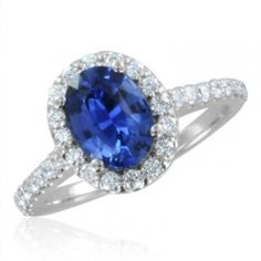 Diamond and sapphire rings make gorgeous engagement rings! There is something magical about a beautiful blue sapphire and diamond ring! Sapphire Solitaire Ring, Pink Sapphire Ring, Diamond Wedding Rings, Engagement Rings Sale, Diamond Engagement Rings, Halo Engagement, Emerald Jewelry, Gemstones, Natural Sapphire