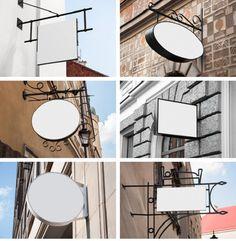 10 Signs Mockups - Coffee Shop & Restaurant