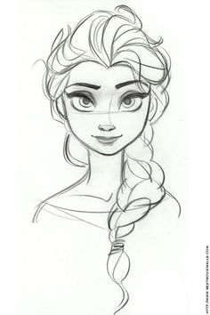 How to draw frozen characters concept sketch frozen a character design references concept draw frozen characters . Art Disney, Disney Concept Art, Disney Kunst, Disney Movies, Anna Concept Art, Disney Art Style, Disney Hair, Cool Drawings, Drawing Sketches