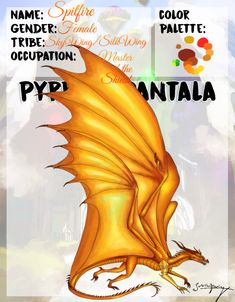 Pyrrhia-Pantala AU: Master of the Shield- Spitfire by ForbiddenDreaming on DeviantArt Wings Of Fire Dragons, Got Dragons, Clay Dragon, Dragon Art, Dragon Recipe, Harry Potter Dragon, Fire Fans, Dragon Sketch, Dragon Pictures