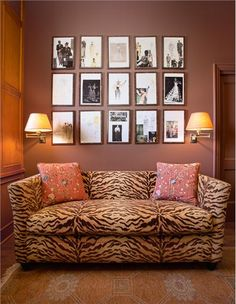 Animal Prints For Brown Sofa Google Search Chocolate Walls Bedroom Images Eclectic