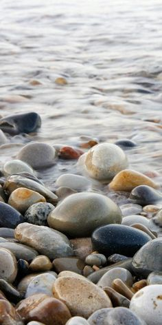 1020 or 1224 Pebble Beach print water and rocks photography art paper canvas horizontal or vertical picture Lake Michigan wall decor Natur Beach Rocks, Pebble Beach, Ocean Rocks, Beach Stones, Photo On Wood, Photo Art, Beach Photography, Nature Photography, Photography Women