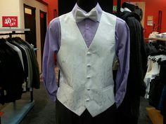 Vest in many colors.  We can special order vests for weddings, large groups, and children in many colors.  $39.95 - $49.95