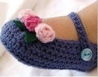 This is really an adorable Baby Crochet Shoes from headsntoes.com for babies 3-6 months.