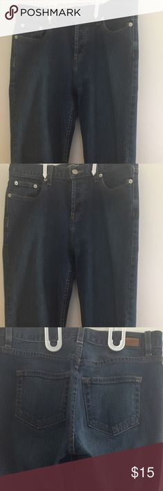 London Jean Medium Size 4 Quality Denim London Jean Medium Size 4 Quality Dark Denim London Jean Jeans Straight Leg
