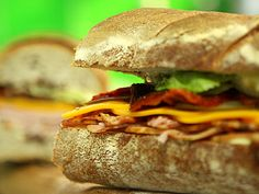 Sándwich de lomito ahumado - Santiago Giorgini