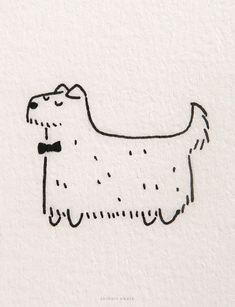 20 Easy Dog Drawing Ideas Easy Animal Drawings, Animal Sketches, Realistic Drawings, Easy Drawings, Simple Cat Drawing, Very Easy Drawing, Drawing Ideas, Chibi Dog, Corgi Drawing