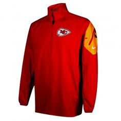 Kansas City Chiefs Nike NFL Coaches Jacket (Red) Kansas City Chiefs Apparel, Nfl Coaches, Nike Nfl, Hoodies, Sweatshirts, Sport Outfits, Sports, Red, Jackets