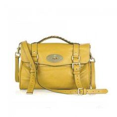 Unique Mulberry Alexa Bag Soft Buffalo Yellow £161.10 http://www.mulberrybagsoutletok.co.uk