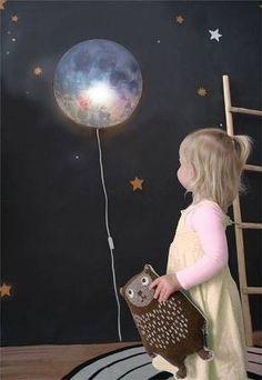 Hartendief Wonderlamp wandlamp Ga Slapen, Maan!