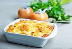 Put Your Hands Together For Aunt Carol's Cheesy Pineapple Casserole! - Page 2 of 2 - Recipe Patch Casserole Dishes, Casserole Recipes, Kohlrabi Gratin, Salt Block Cooking, Pineapple Casserole, Recipe Patch, 8x8 Pan, Chicken Pasta Bake, Vol Au Vent