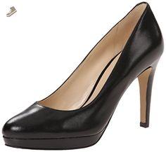 Nine West Women's Beautie Leather Dress Pump, Black, 10 M US - Nine west pumps for women (*Amazon Partner-Link)