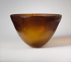 Conical glass bowl, Greek, mid-2nd–early 1st century B.C.