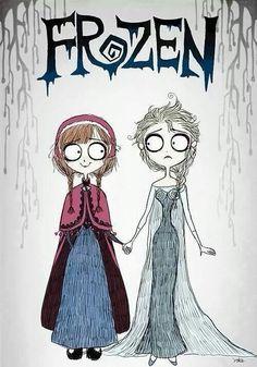 Tim Burton's adaptation of Frozen