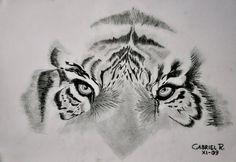 Tigre lapiz