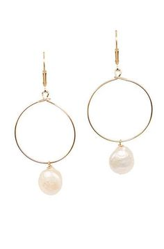 Shop Now >>> Lightweight Gold Hoop Earrings with Freshwater Coin Pearl Drops, by J'Adorn Designs Gold Hoop Earrings, Gold Hoops, Bridal Earrings, Drop Earrings, Jewelry Shop, Custom Jewelry, Jewelry Design, Artisan Jewelry, Handcrafted Jewelry