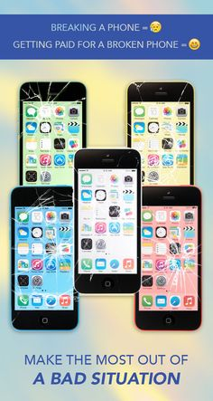 Make the most out of your bad situation when you sell your iPhone 5c to ePelican.