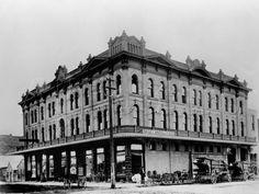 Avon Theatre, late 1800's in Downtown Stockton California