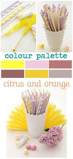 Citrus and Orange – A Lovely Colour Palette