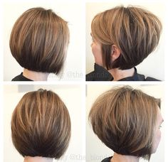 Canapés of long hairstyles Bob; It is, in the first place, among the hair styles that all ladies love very much. Canapés of long bob… Continue Reading → Short Stacked Hair, Short Stacked Bob Haircuts, Best Bob Haircuts, Stacked Bob Hairstyles, Blonde Bob Hairstyles, Short Hair Cuts, Short Angled Bobs, Hairstyles 2018, Pixie Bob Haircut