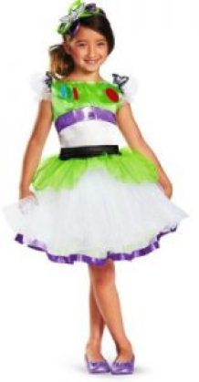 Girls Costumes - This Prestige Buzz Lightyear Tutu Girls Costume features the dress with zipper closure, detachable printed jet pack, and the matching headband. Jessie Costumes, Toy Story Costumes, Dress Up Costumes, Disney Costumes, Baby Costumes, Costume Ideas, Disneyland Halloween Party, Halloween Costumes To Make, Halloween Party Games