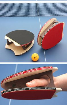 Ping pong glove. cool. Jeff and I have started playing.