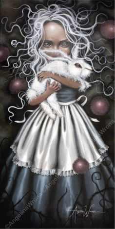 Dark visions of Alice in Wonderland by Angelina Wrona. Alicia Wonderland, Adventures In Wonderland, Wonderland Party, Lewis Carroll, Tim Walker, Chesire Cat, Pin Up, Alice Madness, Wow Art